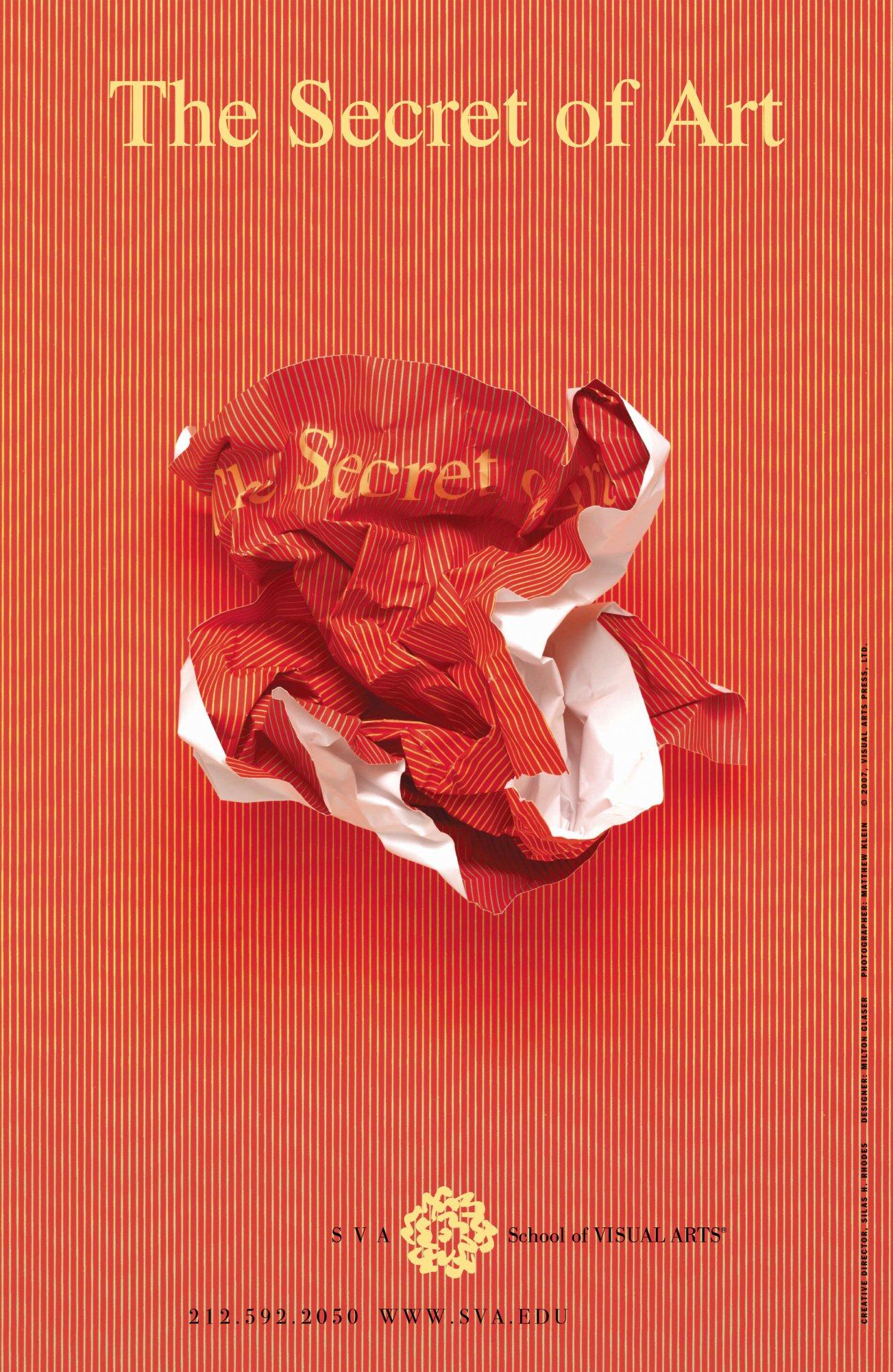 Milton Glaser   Store   The Secret of Art, 2008