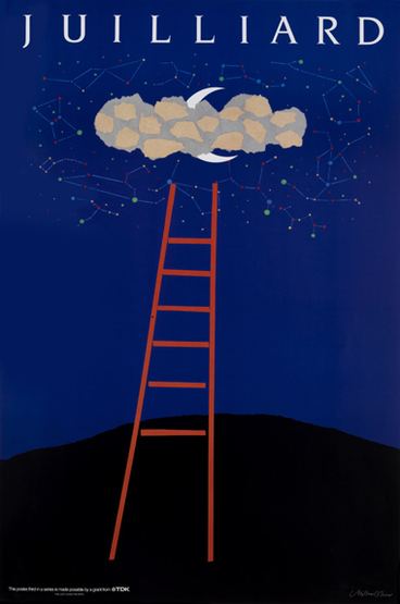 Milton Glaser Store Juilliard Iv Ladder 1989